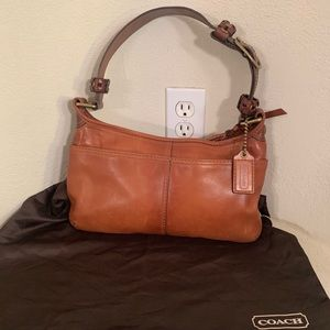 Coach Leather Bleeker Hobo 11416 Handbag